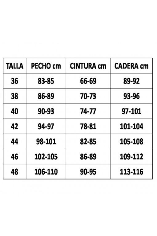 FALDA COLA CINTURA TABLAS