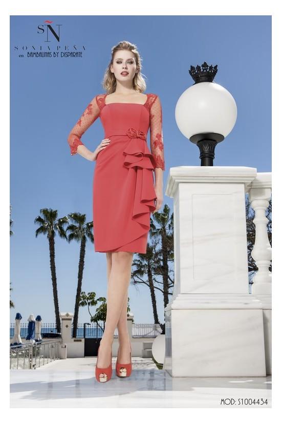 Comprar Madrina Sonia Pena S1004434 En Moda Disparate Color Rojo Talla 46